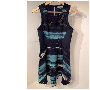 Bailey Blue Dress w/detachable Accessory